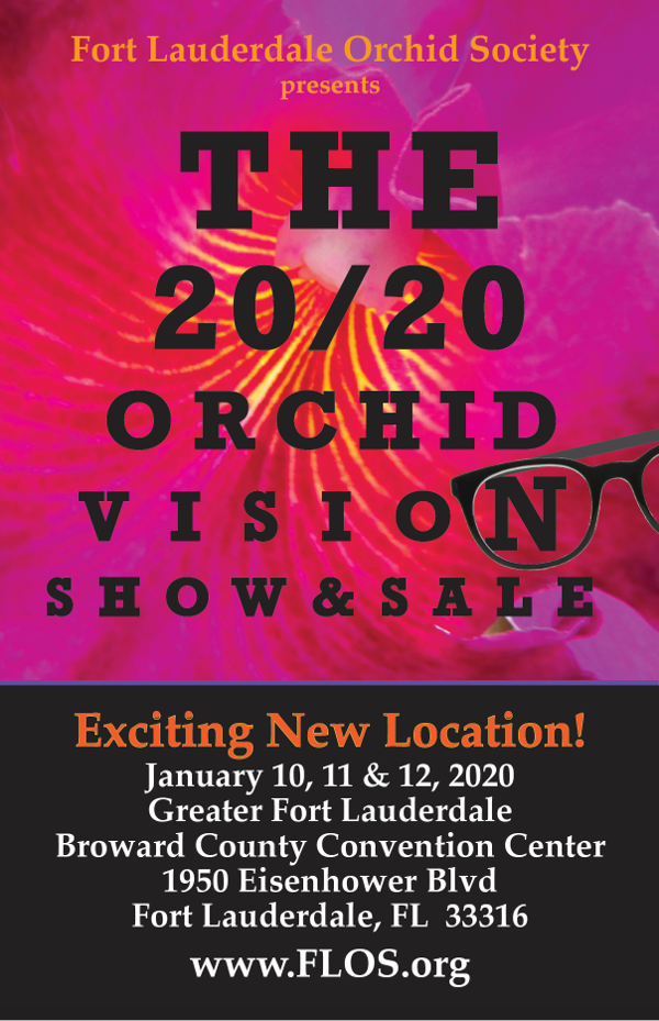 Ft Lauderdale Events January 2020.2020 Orchid Vision Annual Orchid Show Fort Lauderdale